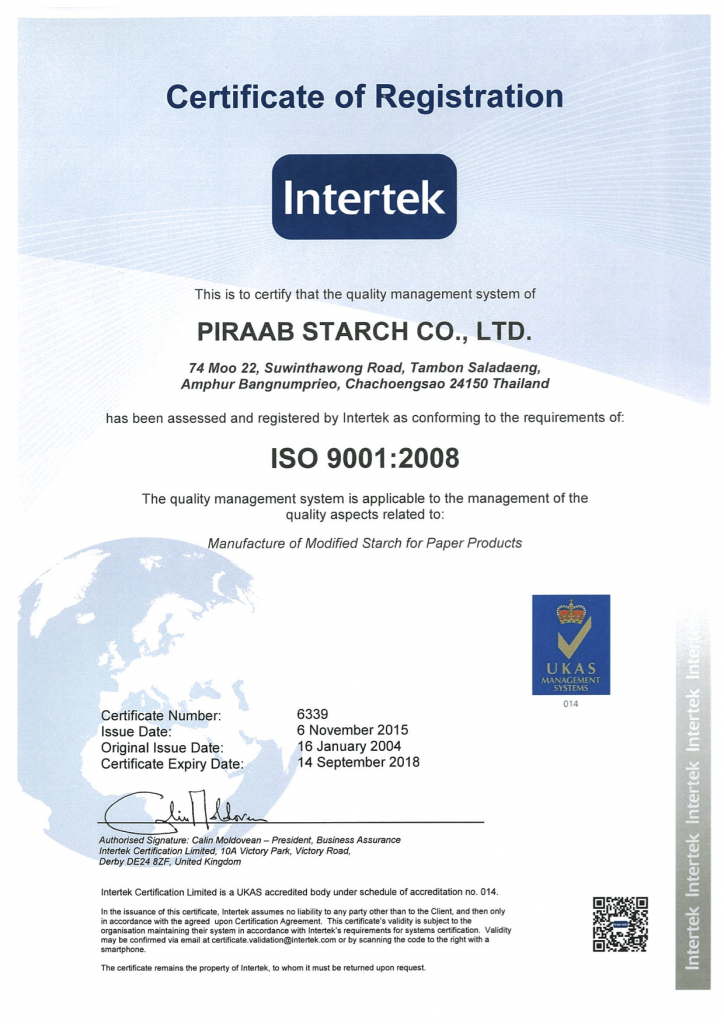 Welcome to Piraab Starch CO ,LTD